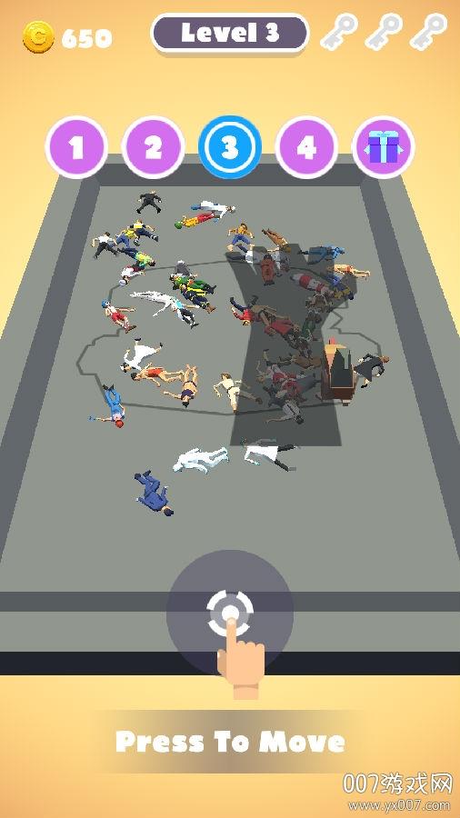 猎杀人类游戏中文版