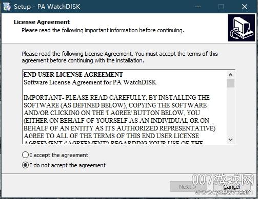 WatchDISK磁盘监控电脑版